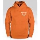 Buck Ugly Bear Hoodie Safety Orange